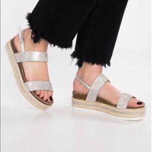 Madden Girl Glitzie Platform Sandals